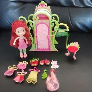 BOGO🌺2009 Hasbro Strawberry Shortcake Doll Set